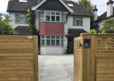 esher garden driveway.